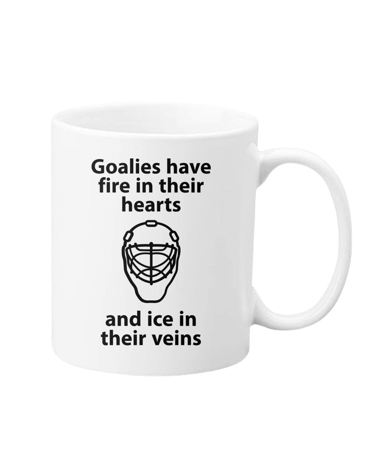Coffee Mug for Goaltenders - White