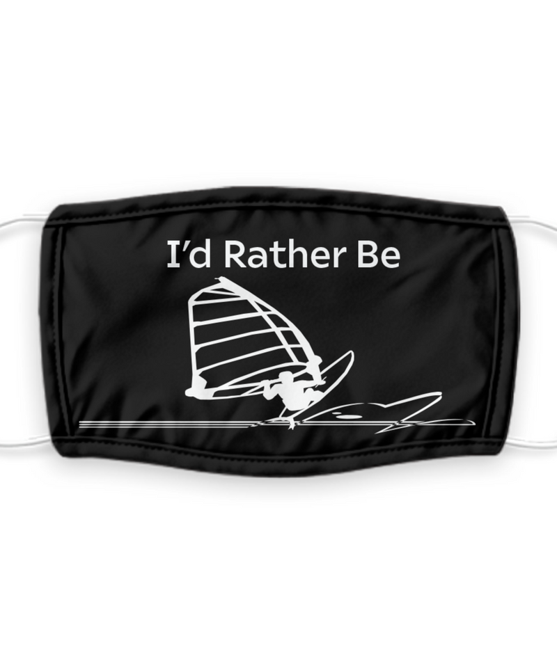 I'd Rather Be Windsurfing Mask
