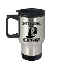 Sailing Travel Mug - Port & Starboard