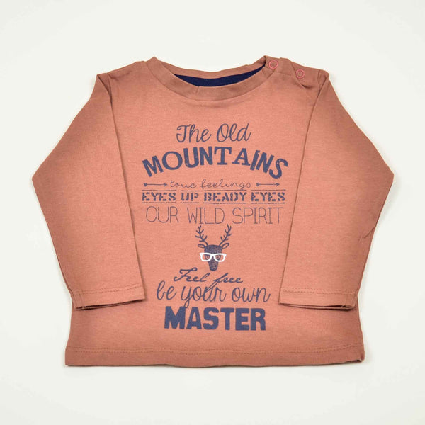 Mountain Master Boys Full Sleeves Zink Shirt - LittleDofi