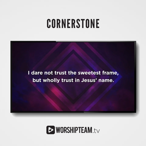 Cornerstone Worship Resources | WorshipTeam.tv