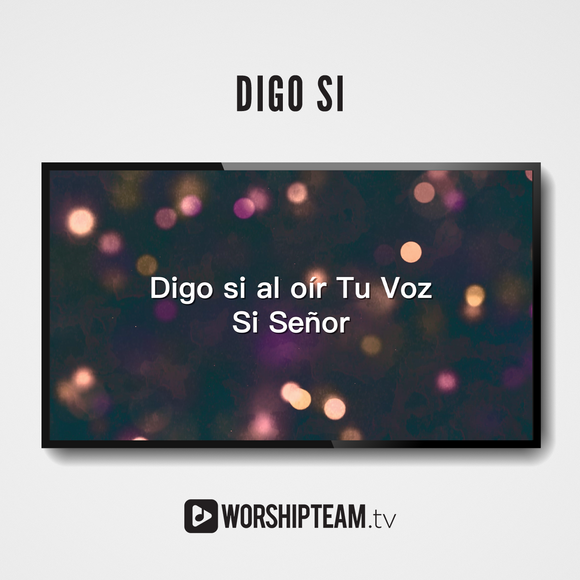 Digo si Worship Resources | WorshipTeam.tv