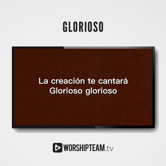 Glorioso Worship Resources | WorshipTeam.tv