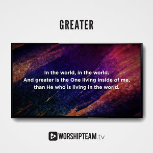 Greater Worship Resources | WorshipTeam.tv