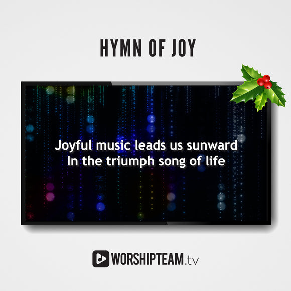 Hymn of Joy Worship Resources | WorshipTeam.tv