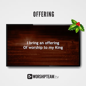Offering Worship Resources | WorshipTeam.tv