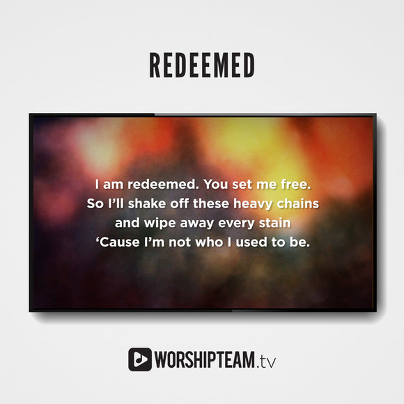 Redeemed Worship Resources | WorshipTeam.tv