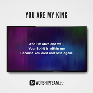 You Are My King (Amazing Love) Worship Resources | WorshipTeam.tv