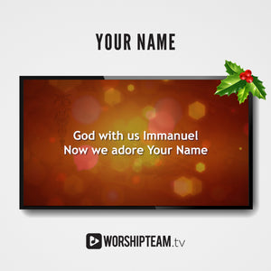 Your Name Worship Resources | WorshipTeam.tv