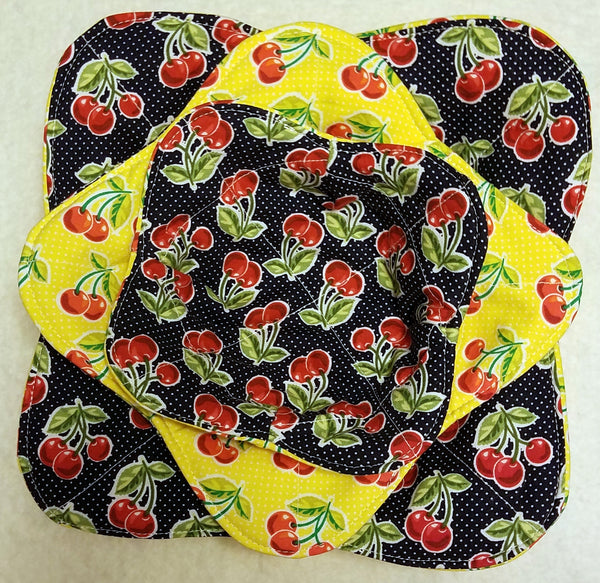 Microwave Bowl Cozy set of 3 (S, M, L)