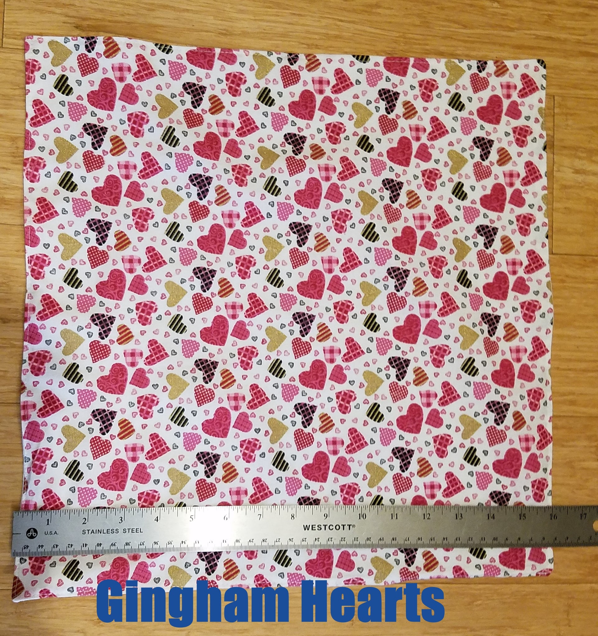 Valentine cloth napkins