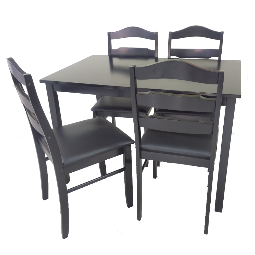 FLORA 4-Seater Dining Set (6100249936035)