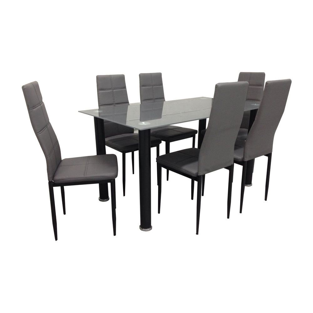 LENORA 6-Seater Dining Set (5571351347363)
