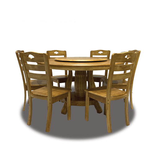 LUNA 6-Seater Dining Set (5571400859811)