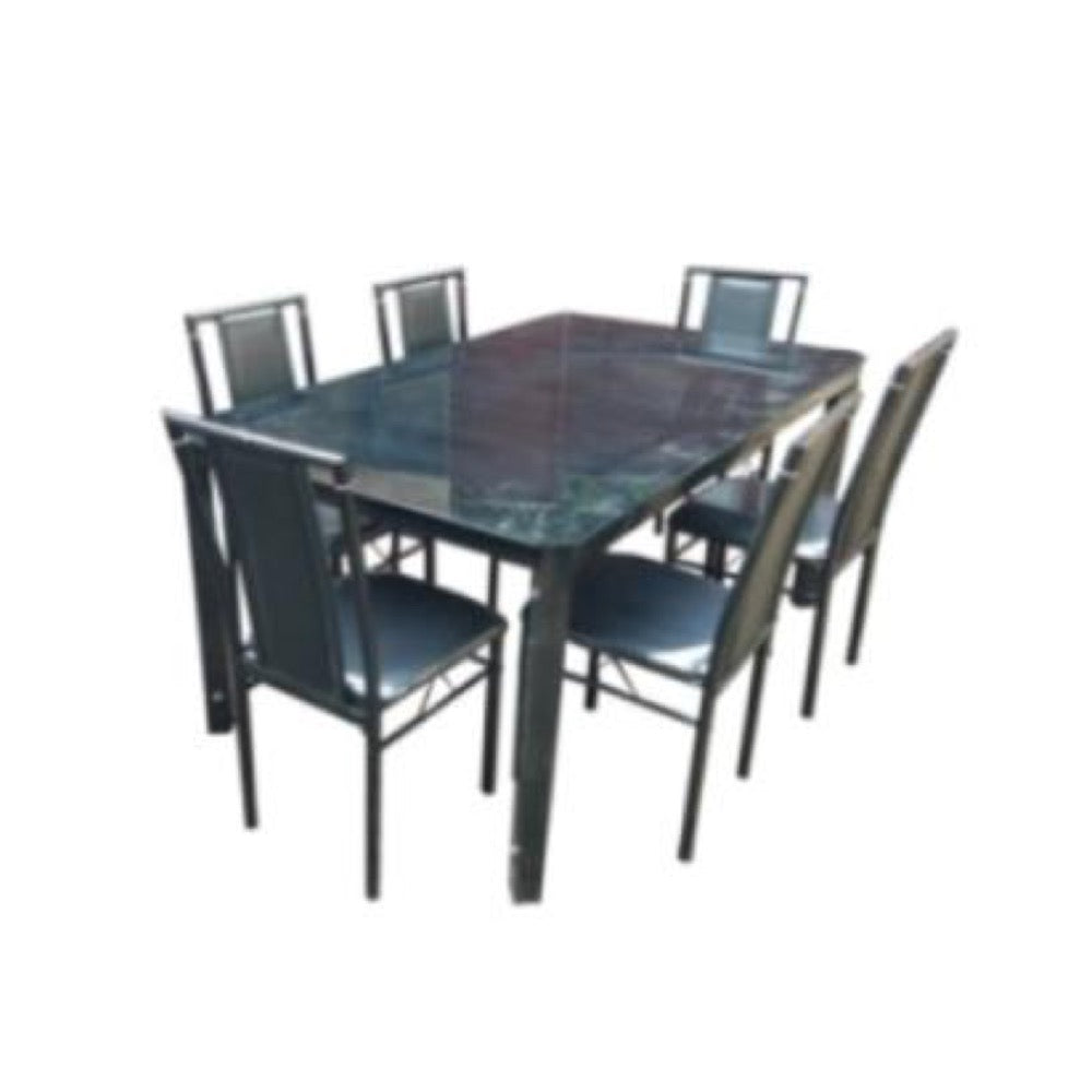 SCOTT II 6-Seater Dining Set (5617436098723)