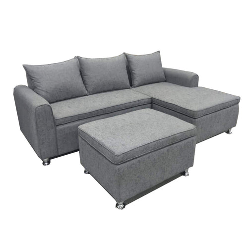 CLAIRE L-Shape Sofa (5617138008227)