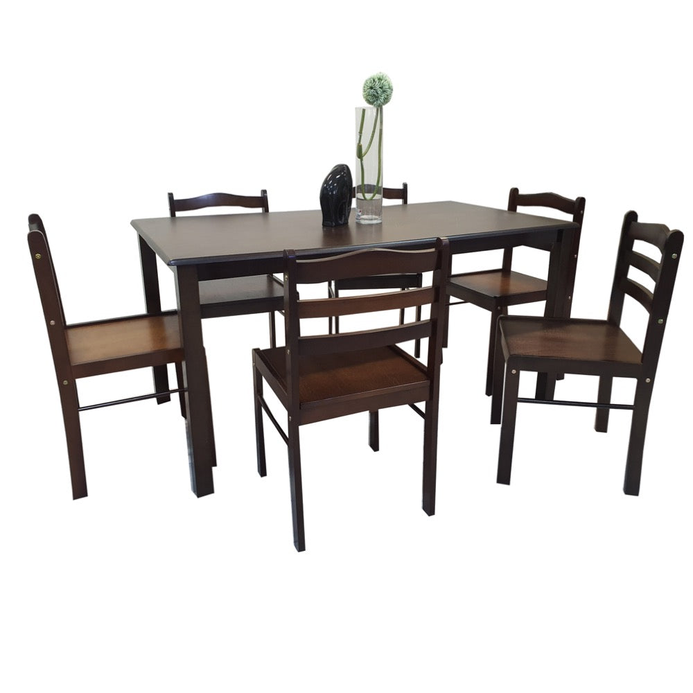 DS-STARTER-MMI 6-Seater Dining Set (5617636081827)