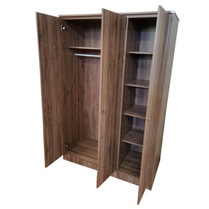 KATE II 3-Door Wardrobe (5618227151011)
