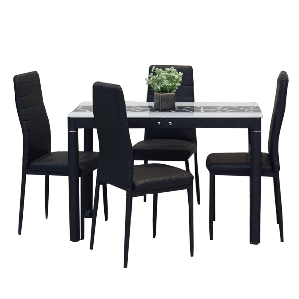 MARCELLE 4-Seater Dining Set (5617664032931)