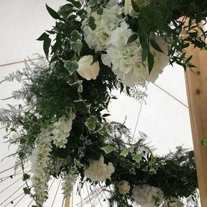 add flowers to compliment your venue