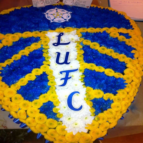Football Shield Funeral Tribute
