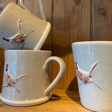 Load image into Gallery viewer, Lovely Hand made Hogben Mug available in Grey and Gream