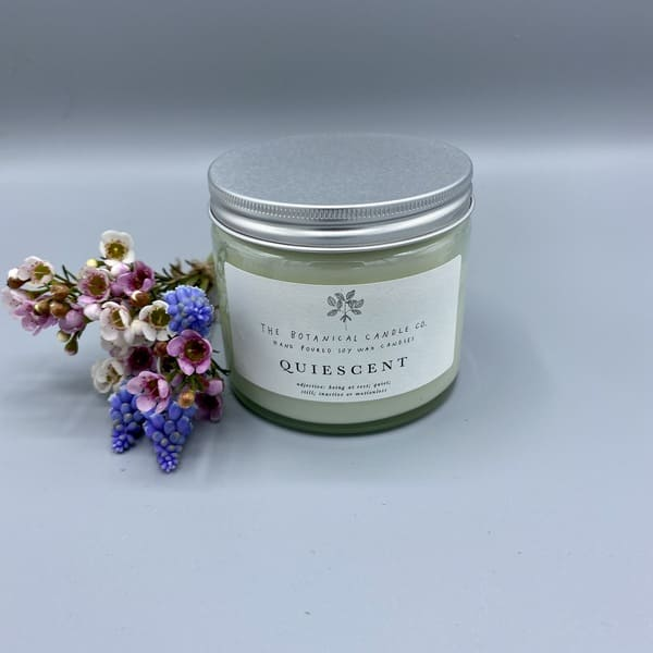 Hand Poured Soy Wax Candle - Quiescent