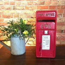 Load image into Gallery viewer, Vintage Red Post Box