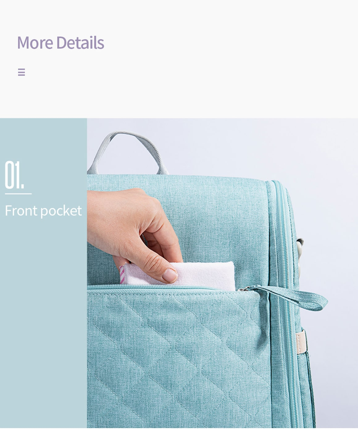 Baby Bag and Bed