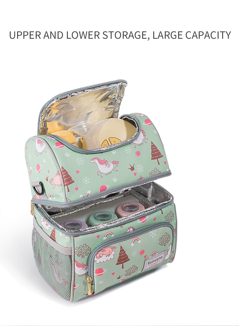 Sunveno Multi-Function Nappy Bags for Baby Care
