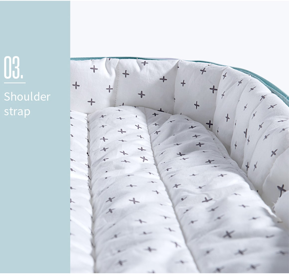 Sunveno Baby Crib Travel Folding Baby Bag and Bed