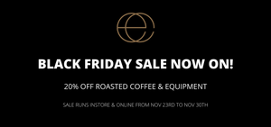 Eclipse Coffee Canada Black Friday Sale