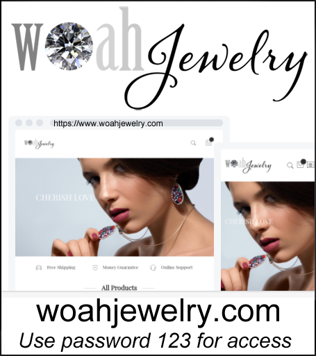 Women's Jewelry Dropshipping Store for Sale