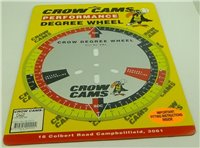 "Crow Cams Degree Wheel 11"" Diameter"