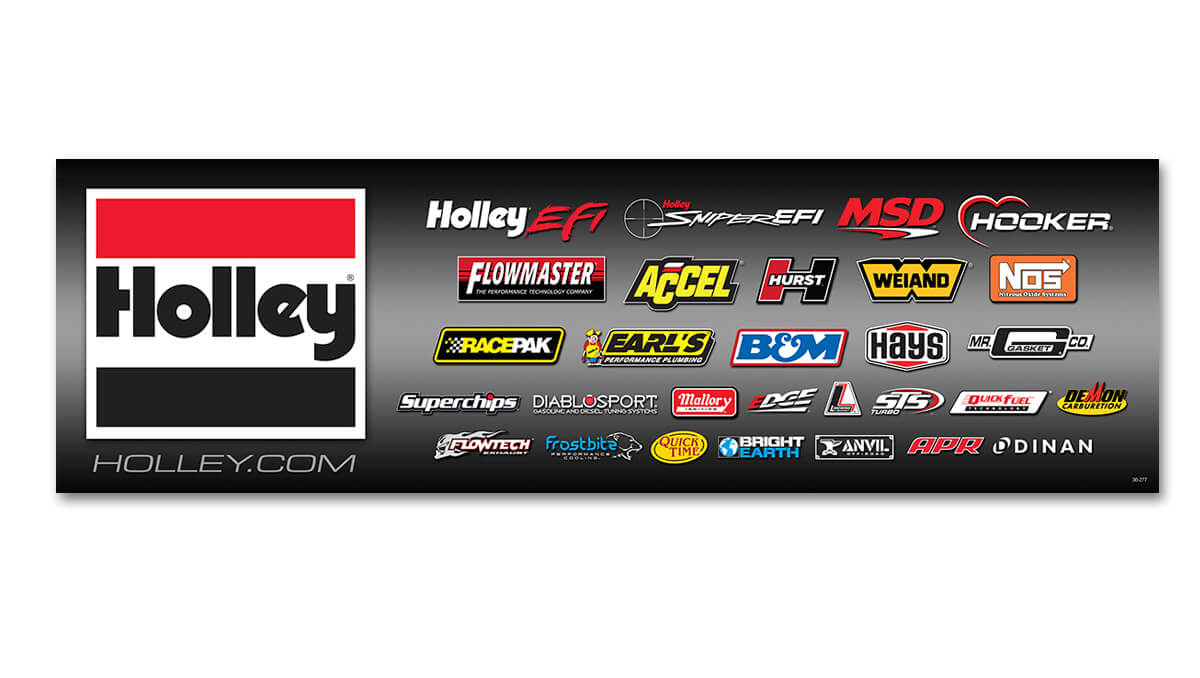 Holley Brand Banner