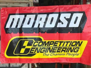 Moroso / Competition Engineering Shed Banner