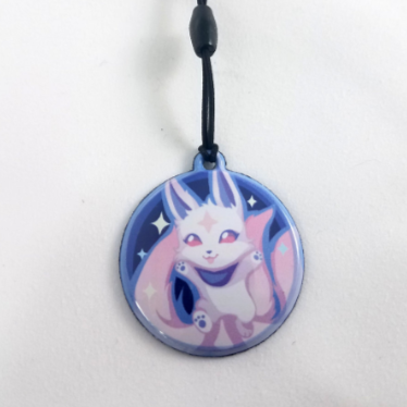 Kiko (Ahri's Familiar) Screen Cleaner Charm