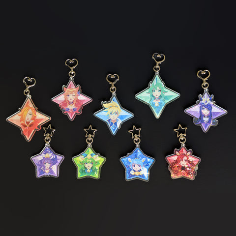 Large Star Guardian Charms
