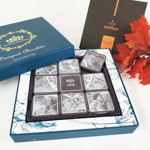 Kiss is Love Chocolate Gift Box (9P)