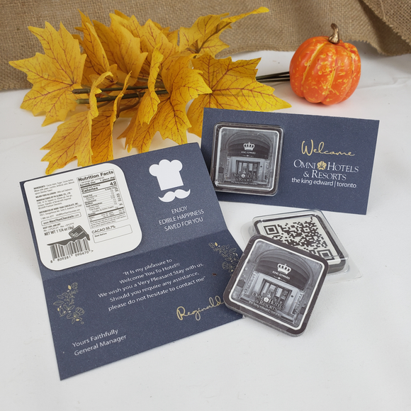 Chocolate Welcome Card (500pks)