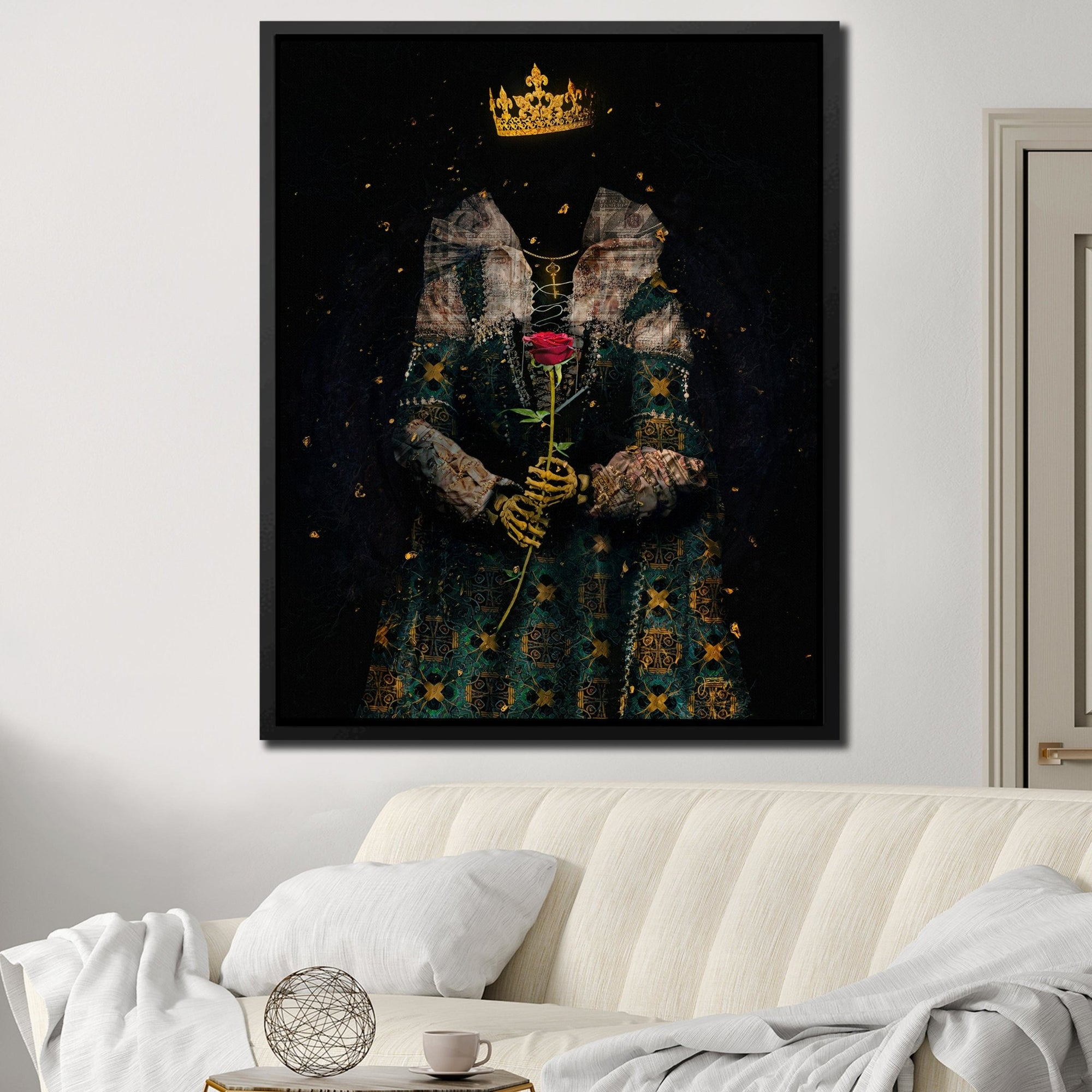A Queen's Gift - Thedopeart Canvas