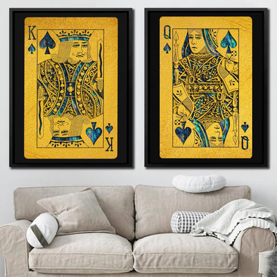 Abalone King and Queen Set - Thedopeart Canvas