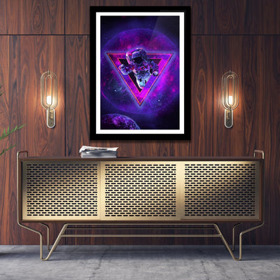 Amethyst Gateway Semi-gloss Print - Thedopeart Prints