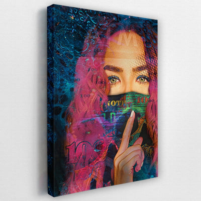 A.T.M. Pink - Thedopeart Canvas