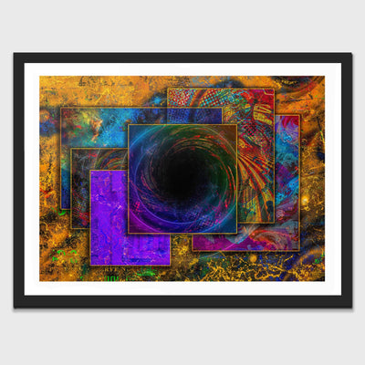Controlled Chaos Semi-gloss Print - Thedopeart Prints
