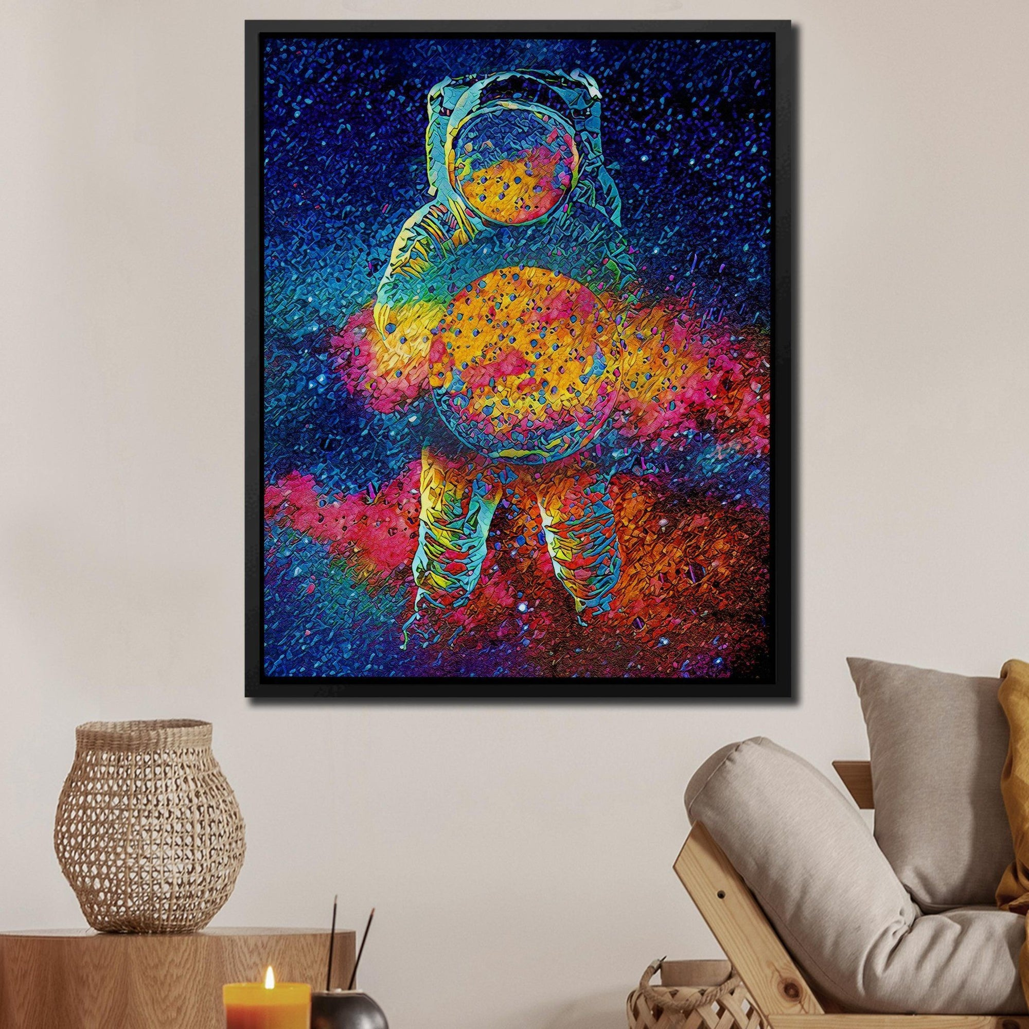 Cosmic Bang - Thedopeart Canvas