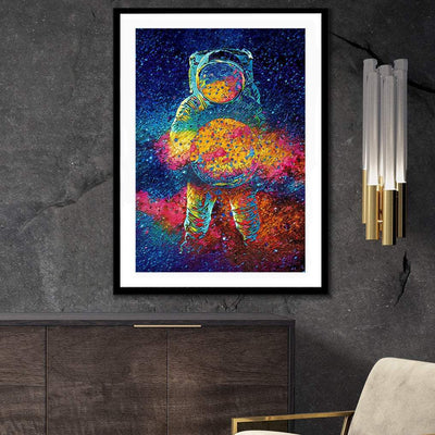 Cosmic Bang Semi-gloss Print - Thedopeart