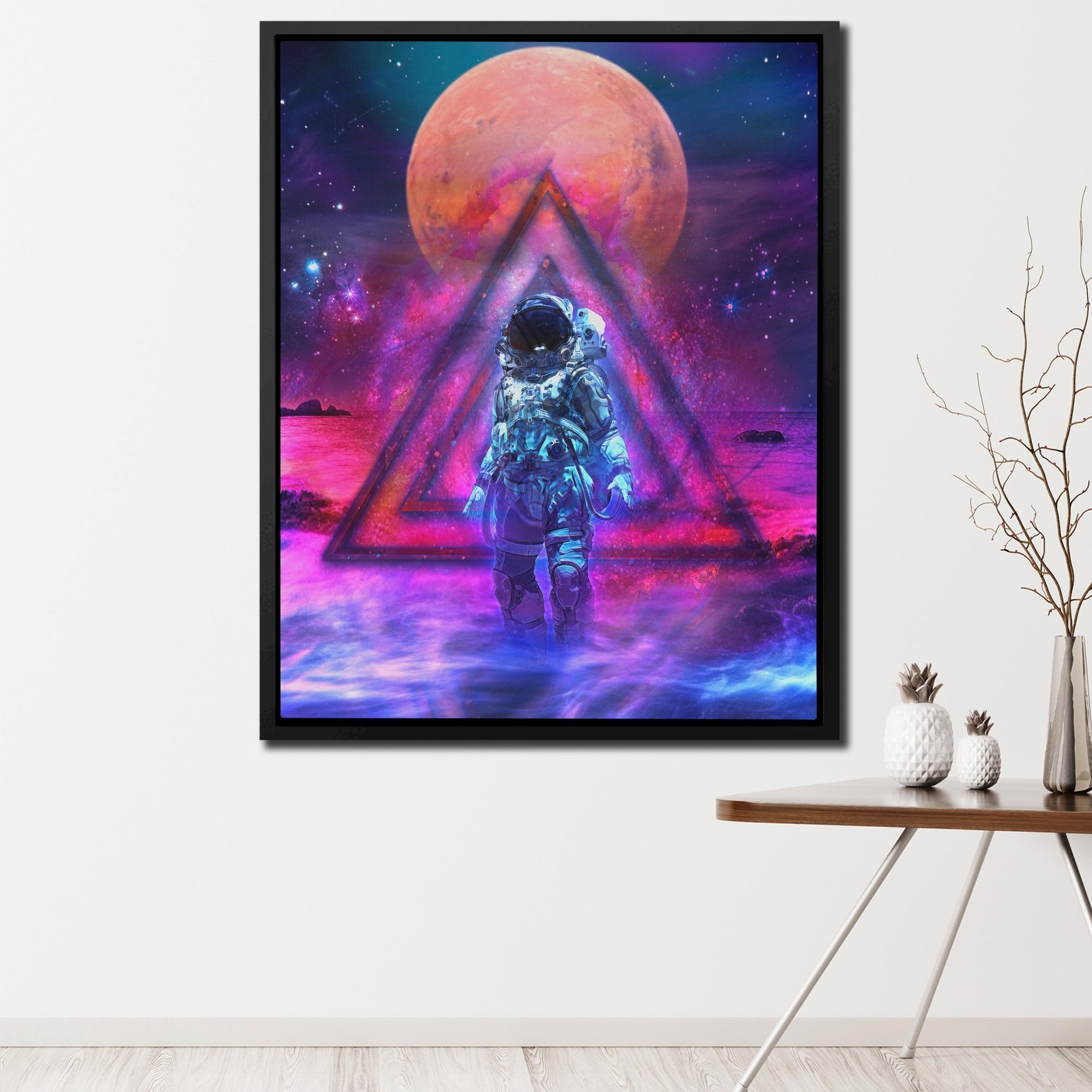 Cosmonaut - Thedopeart Canvas