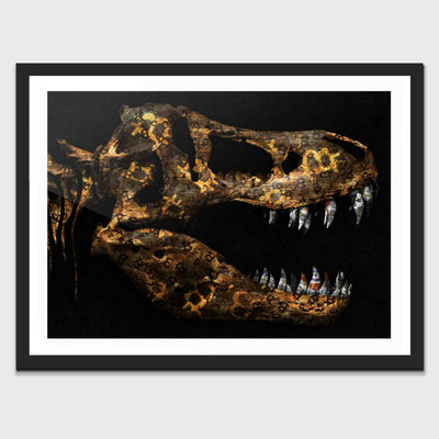 Cryptosaur Semi-gloss Print - Thedopeart Prints
