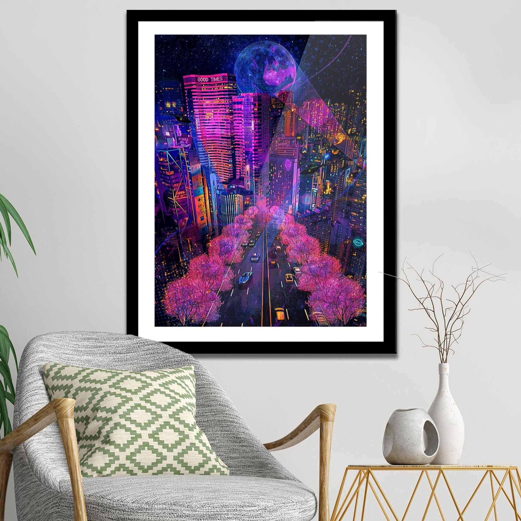 It Was All A Dream Semi-gloss Print - Thedopeart Prints